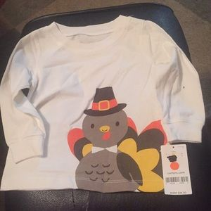 Long sleeve turkey shirt